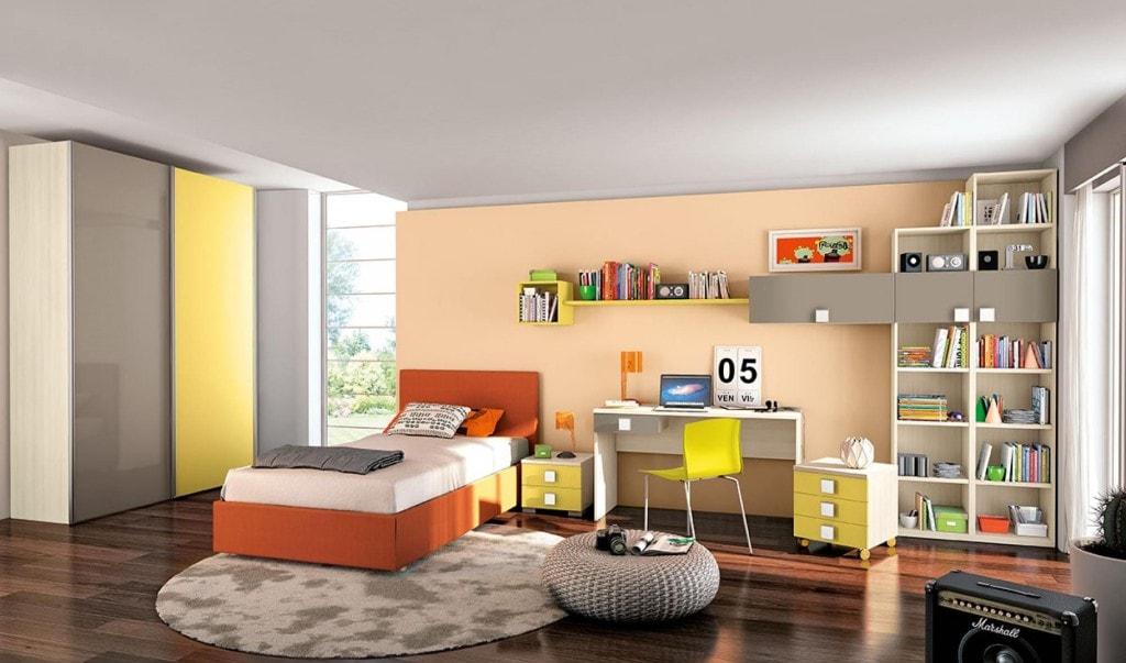 Camere da letto per single modus crescendi camerette - Camera da letto per single ...
