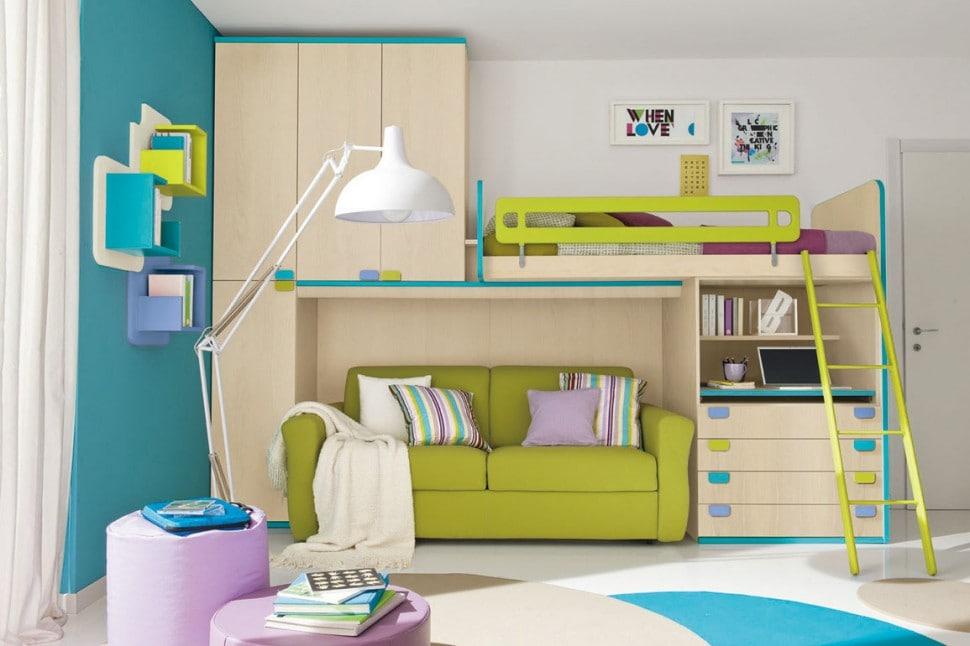 Negozi divano letto cameretta bambini e ragazzi salerno - Divani letto per cameretta ikea ...