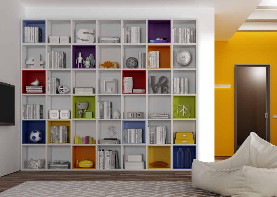 Negozi librerie per la cameretta bambini e ragazzi salerno - Librerie da camera ...