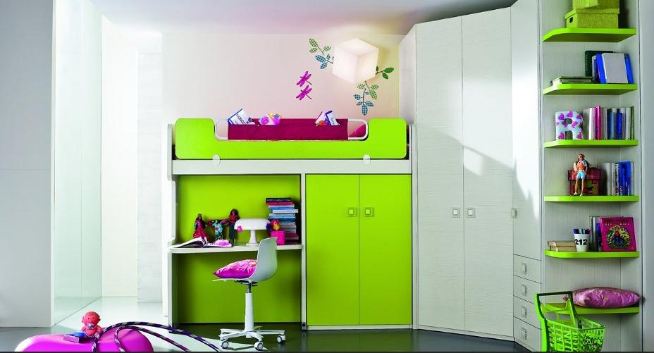Mobili lavelli camerette salvaspazio for Camerette ragazzi salvaspazio