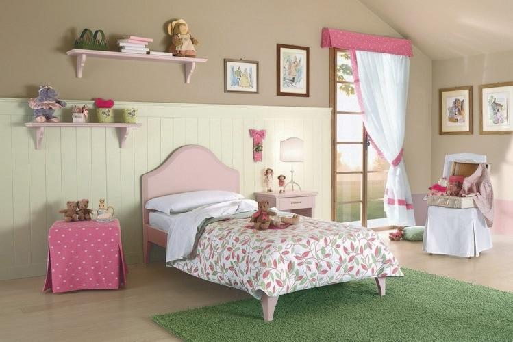 Camerette bambini provenzali idee per il design della casa - Camerette bambini classiche ...