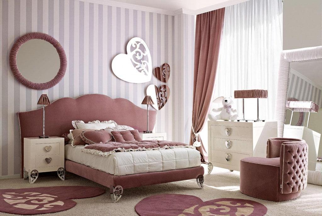Rivenditori dolfi camerette classiche in stile salerno e - Decorazione parete cameretta ...