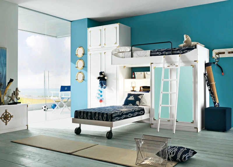 Camerette stile vecchia marina modus crescendi camerette - Immagini di camerette per ragazzi ...