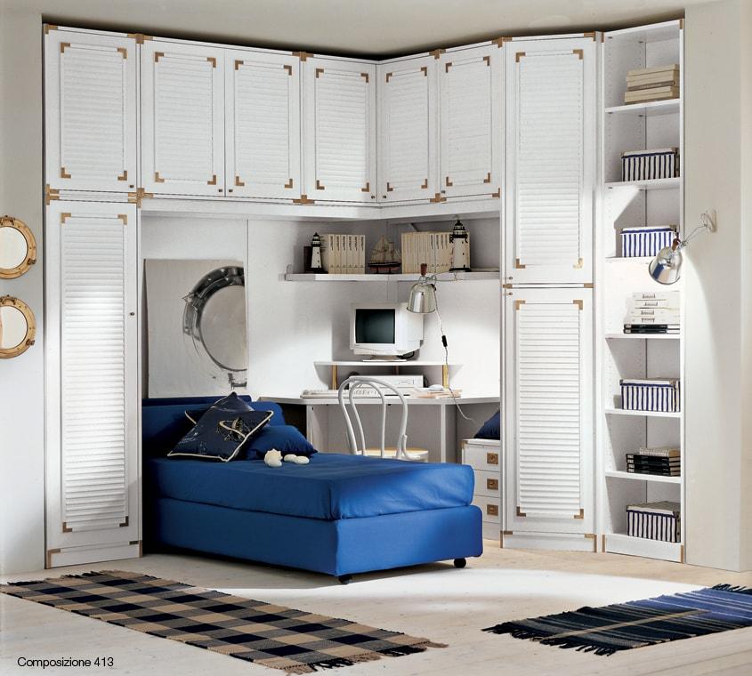 Camerette stile vecchia marina modus crescendi camerette for Arredamento marino per casa