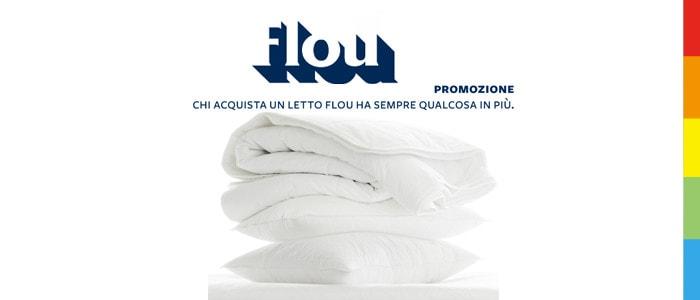 Promozione Flou: Piumino e Copripiumino in Regalo