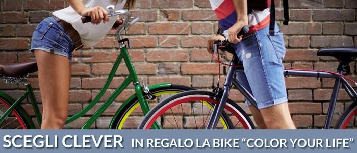 Acquista Camere Clever e ricevi una Bici in Regalo