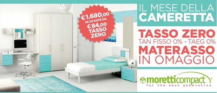 Offerta Camerette Giugno 2015 - Moretti Compact - Salerno