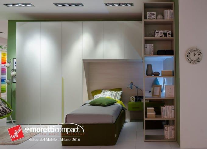 Novit moretti compact dal salone del mobile 2016 - Moretti camere ragazzi ...